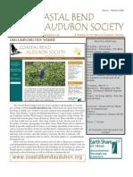 January-February 2009 Brown Pelican Newsletter Coastal Bend Audubon Society