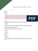 Compilation of MUET Speaking Test Tips
