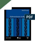 Prada, R. - Subversiones Indigenas.pdf