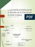 Filosofía de La Ciencia - Características Históricas