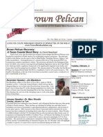 January-February 2010 Brown Pelican Newsletter Coastal Bend Audubon Society