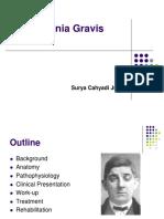 Myasthenia Gravis. SURYA