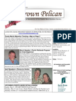 July-August 2010 Brown Pelican Newsletter Coastal Bend Audubon Society