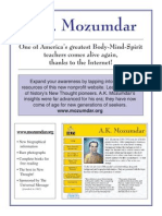 A K Mozumdar Website Poster