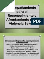 Acompañamiento Violencia Sexual