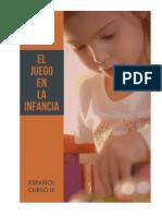 EFE - Curso III - El juego en la infancia
