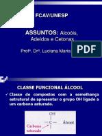 Alcoois Aldeidos e Cetonas