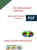 Conciliación y Arbitraje - El Conflicto