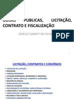 Curso Obras Publicas, Licitação, Contrato e Fiscalização