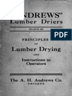 Lumber-drying and Advice to Dry Kiln Operators 1914