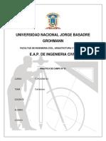 Informe de Practicas 01 (Cartaboneo)