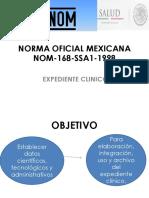 Norma Oficial Mexicana Nom 168 Ssa1 1998