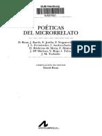 Poeticas Del Microrelato _indice