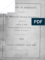 Forestry in Minnesota 1898