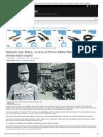 Generalul Ioan Boeriu, Un Erou Al Primului Război Mondial Si Maresal in Armata Austro-ungara - Romania Military