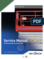 Manual de servicio SkyJack