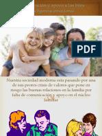 Comunicación y Apoyo a Los Hijos