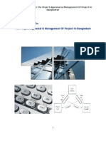 A Critical Analysis on the Project Appraisal & Management of Project in Bangladesh