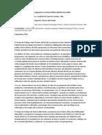 Propuesta Para Grupo de Investigación Ciencias Políticas 2016- Teorías Del Estado