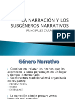 Subgeneros narrativos