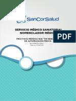 Nomenclador Medico