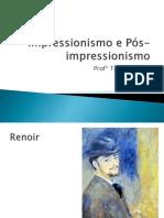 Impressionismo e Pos Impressionismo