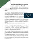 Resolución de contrato y medios de pago