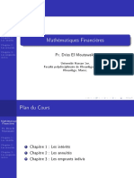 Cours de Mathématiques Financières