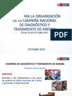1. Campaña Anemia Regione 29 de Octubre