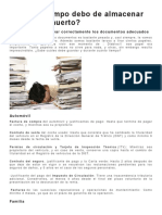 archivo de Documentos