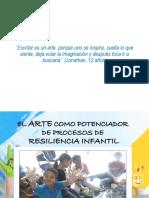 Presentación El Arte Como Potenciador de Procesos de Resiliencia Infantil