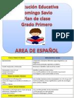 Español Grado Primero