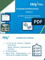1.1 Semana 1 Los Inicios de La Teoria Del Comercio Internacional(1)