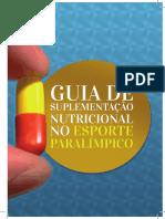 Manual de Suplementação Nutricional No Esporte Paralímpico