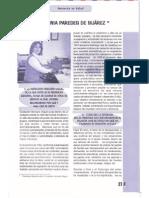 Entrevista a María Eugenia Paredes de Suárez