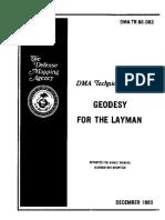 Tutorial Basico de Geodesia