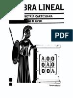 Algebra lineal geometria cartesiana J. de burgos.pdf