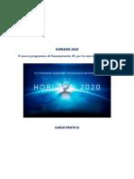 Guida Pratica Horizon 2020