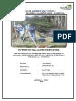 1.-Caratula Estudio Hidrologico Argama