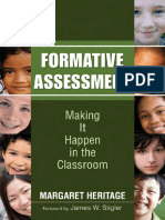 Formative Assessment Making It Happen in the Classroom