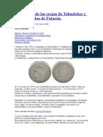 La Historia de Las Orejas de Tehuelches y Las Monedas de Patacón