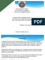 CURFAD. Planificación instruccional.pptx
