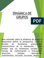 Dinamica de Grupos 3ra. Sesión