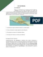 LOS AZTECAS (4° Basico)