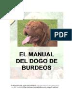 Manual Dogo de Burdeos