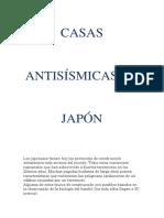 Casas Antisísmicas en Japón