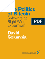 The Politics of Bitcoin - Wing Extremism Copy