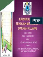 Karnival Kuiz Sekolah Menengah Daerah Kluang