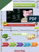 Educação Financeira - 4º Encontro - Oficina de Trocas