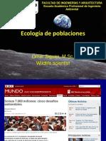 Buena Presentacion de Ecologia de Poblaciones